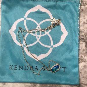 Blue Kendra Scott Necklace